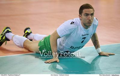 DHL Modena - Halkbank Ankara Playoff12 - 2016 CEV DenizBank Volleyball Champions League - Men,  PalaPanini Modena IT, 03.03.2016 FOTO: Elena Zanutto © 2016 Volleyfoto.it, all rights reserved [id:20160303.4B2A9303]