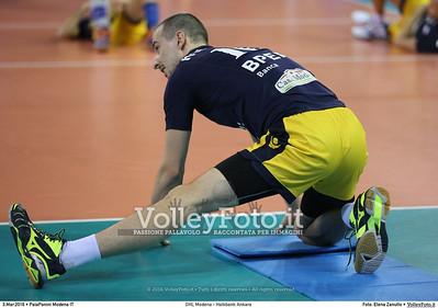DHL Modena - Halkbank Ankara Playoff12 - 2016 CEV DenizBank Volleyball Champions League - Men,  PalaPanini Modena IT, 03.03.2016 FOTO: Elena Zanutto © 2016 Volleyfoto.it, all rights reserved [id:20160303.4B2A9340]