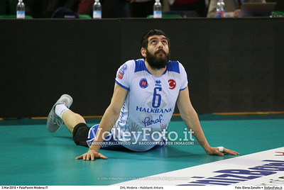 DHL Modena - Halkbank Ankara Playoff12 - 2016 CEV DenizBank Volleyball Champions League - Men,  PalaPanini Modena IT, 03.03.2016 FOTO: Elena Zanutto © 2016 Volleyfoto.it, all rights reserved [id:20160303.4B2A9384]