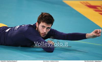 DHL Modena - Halkbank Ankara Playoff12 - 2016 CEV DenizBank Volleyball Champions League - Men,  PalaPanini Modena IT, 03.03.2016 FOTO: Elena Zanutto © 2016 Volleyfoto.it, all rights reserved [id:20160303.4B2A9358]