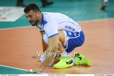 DHL Modena - Halkbank Ankara Playoff12 - 2016 CEV DenizBank Volleyball Champions League - Men,  PalaPanini Modena IT, 03.03.2016 FOTO: Elena Zanutto © 2016 Volleyfoto.it, all rights reserved [id:20160303.4B2A9374]