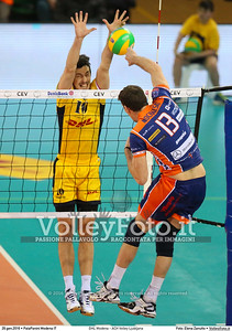 DHL Modena - ACH Volley Ljubljana 6th Leg - Pool F - 2016 CEV DenizBank Volleyball Champions League - Men,  PalaPanini Modena IT, 26.01.2016 FOTO: Elena Zanutto © 2016 Volleyfoto.it, all rights reserved [id:20160126.4B2A0027]