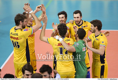 DHL Modena - ACH Volley Ljubljana 6th Leg - Pool F - 2016 CEV DenizBank Volleyball Champions League - Men,  PalaPanini Modena IT, 26.01.2016 FOTO: Elena Zanutto © 2016 Volleyfoto.it, all rights reserved [id:20160126.4B2A0003]