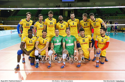 DHL Modena - ACH Volley Ljubljana 6th Leg - Pool F - 2016 CEV DenizBank Volleyball Champions League - Men,  PalaPanini Modena IT, 26.01.2016 FOTO: Elena Zanutto © 2016 Volleyfoto.it, all rights reserved [id:20160126.9C3A6425]