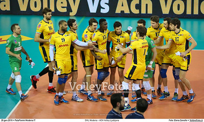 DHL Modena - ACH Volley Ljubljana 6th Leg - Pool F - 2016 CEV DenizBank Volleyball Champions League - Men,  PalaPanini Modena IT, 26.01.2016 FOTO: Elena Zanutto © 2016 Volleyfoto.it, all rights reserved [id:20160126.4B2A9961]