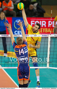 DHL Modena - ACH Volley Ljubljana 6th Leg - Pool F - 2016 CEV DenizBank Volleyball Champions League - Men,  PalaPanini Modena IT, 26.01.2016 FOTO: Elena Zanutto © 2016 Volleyfoto.it, all rights reserved [id:20160126.4B2A0015]
