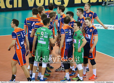 DHL Modena - ACH Volley Ljubljana 6th Leg - Pool F - 2016 CEV DenizBank Volleyball Champions League - Men,  PalaPanini Modena IT, 26.01.2016 FOTO: Elena Zanutto © 2016 Volleyfoto.it, all rights reserved [id:20160126.4B2A9966]