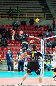Calzedonia VERONA - Galatasaray HDI ISTANBUL 8th Final - Home match, 2016 CEV Volleyball Challenge Cup - Men.  PalaOlimpia Verona IT, 20.01.2016 FOTO: Daniele Celesti © 2016 Volleyfoto.it, all rights reserved [id:20160120.Calzedonia Verona - Galatasaray-46]