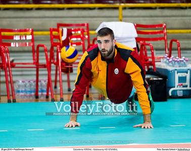 Calzedonia VERONA - Galatasaray HDI ISTANBUL 8th Final - Home match, 2016 CEV Volleyball Challenge Cup - Men.  PalaOlimpia Verona IT, 20.01.2016 FOTO: Daniele Celesti © 2016 Volleyfoto.it, all rights reserved [id:20160120.Calzedonia Verona - Galatasaray-13]