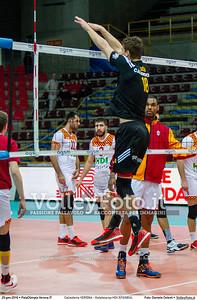 Calzedonia VERONA - Galatasaray HDI ISTANBUL 8th Final - Home match, 2016 CEV Volleyball Challenge Cup - Men.  PalaOlimpia Verona IT, 20.01.2016 FOTO: Daniele Celesti © 2016 Volleyfoto.it, all rights reserved [id:20160120.Calzedonia Verona - Galatasaray-22]