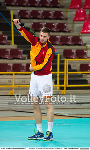 Calzedonia VERONA - Galatasaray HDI ISTANBUL 8th Final - Home match, 2016 CEV Volleyball Challenge Cup - Men.  PalaOlimpia Verona IT, 20.01.2016 FOTO: Daniele Celesti © 2016 Volleyfoto.it, all rights reserved [id:20160120.Calzedonia Verona - Galatasaray-14]