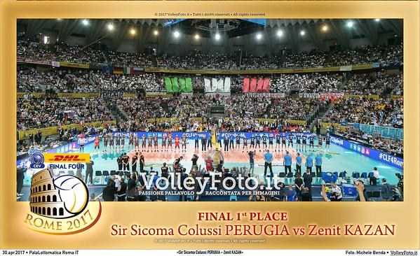 «Sir Sicoma Colussi PERUGIA - Zenit KAZAN»