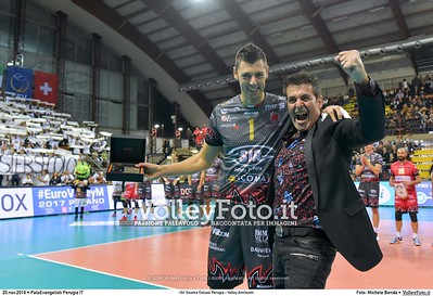 «Sir Sicoma Colussi Perugia - Volley Amriswil»