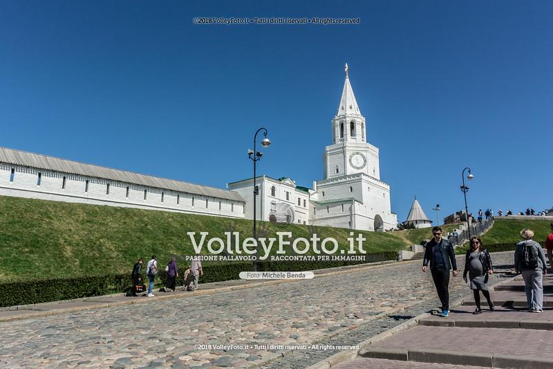 Kazan , 13 maggio 2018 - Foto di Michele Benda per VolleyFoto <br /> [Riferimento file: 2018-05-13/_DSC1530]