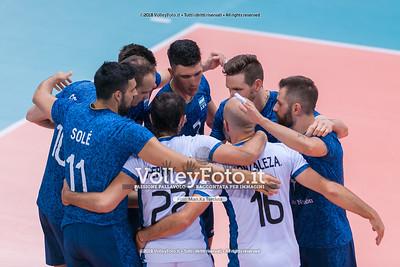 durante presso , 14 settembre 2018. Foto di: Mari.ka Torcivia per VolleyFoto.it [riferimento file: 2018-09-15/_65A7862]