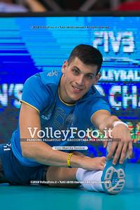 durante presso , 14 settembre 2018. Foto di: Mari.ka Torcivia per VolleyFoto.it [riferimento file: 2018-09-15/_65A7746]