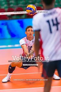 durante presso , 14 settembre 2018. Foto di: Mari.ka Torcivia per VolleyFoto.it [riferimento file: 2018-09-15/_65A7829]