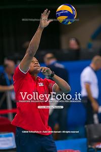 durante presso , 14 settembre 2018. Foto di: Mari.ka Torcivia per VolleyFoto.it [riferimento file: 2018-09-15/_65A7826]