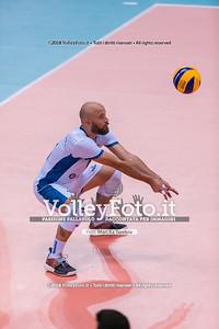 durante presso , 14 settembre 2018. Foto di: Mari.ka Torcivia per VolleyFoto.it [riferimento file: 2018-09-15/_65A7841]