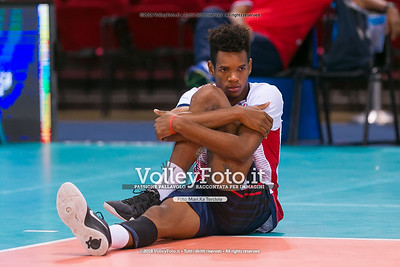 durante presso , 14 settembre 2018. Foto di: Mari.ka Torcivia per VolleyFoto.it [riferimento file: 2018-09-15/_65A7729]