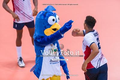 durante presso , 14 settembre 2018. Foto di: Mari.ka Torcivia per VolleyFoto.it [riferimento file: 2018-09-15/_65A7864]