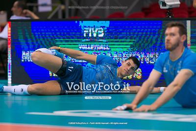 durante presso , 14 settembre 2018. Foto di: Mari.ka Torcivia per VolleyFoto.it [riferimento file: 2018-09-15/_65A7733]