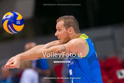 durante presso , 14 settembre 2018. Foto di: Mari.ka Torcivia per VolleyFoto.it [riferimento file: 2018-09-14/_65A7252]