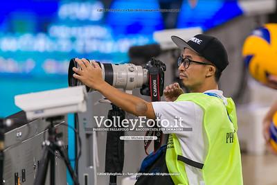 durante presso , 14 settembre 2018. Foto di: Mari.ka Torcivia per VolleyFoto.it [riferimento file: 2018-09-14/_65A7260]