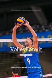 durante presso , 14 settembre 2018. Foto di: Mari.ka Torcivia per VolleyFoto.it [riferimento file: 2018-09-14/_65A7281]