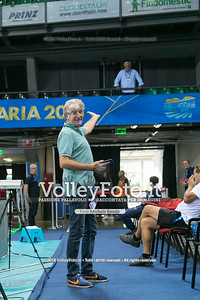 durante presso , 14 settembre 2018. Foto di: Mari.Ka Torcivia per VolleyFoto.it [riferimento file: 2018-09-14/_MG_1409]