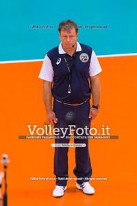 durante presso , 14 settembre 2018. Foto di: Mari.ka Torcivia per VolleyFoto.it [riferimento file: 2018-09-14/_65A7305]