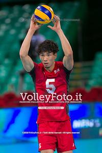 durante presso , 14 settembre 2018. Foto di: Mari.ka Torcivia per VolleyFoto.it [riferimento file: 2018-09-14/_65A7217]