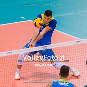 durante presso , 14 settembre 2018. Foto di: Mari.ka Torcivia per VolleyFoto.it [riferimento file: 2018-09-14/_65A7328]