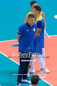 durante presso , 14 settembre 2018. Foto di: Mari.ka Torcivia per VolleyFoto.it [riferimento file: 2018-09-14/_65A7321]