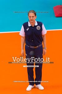 durante presso , 14 settembre 2018. Foto di: Mari.ka Torcivia per VolleyFoto.it [riferimento file: 2018-09-14/_65A7304]