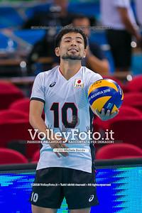 durante presso , 14 settembre 2018. Foto di: Mari.ka Torcivia per VolleyFoto.it [riferimento file: 2018-09-14/_65A7222]