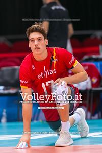 durante presso , 15 settembre 2018. Foto di: Mari.ka Torcivia per VolleyFoto.it [riferimento file: 2018-09-16/_65A8303]