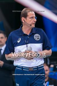 durante presso , 15 settembre 2018. Foto di: Mari.ka Torcivia per VolleyFoto.it [riferimento file: 2018-09-16/_65A8332]