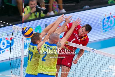 durante presso , 15 settembre 2018. Foto di: Mari.ka Torcivia per VolleyFoto.it [riferimento file: 2018-09-16/_65A8433]