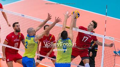 durante presso , 15 settembre 2018. Foto di: Mari.ka Torcivia per VolleyFoto.it [riferimento file: 2018-09-16/_65A8426]