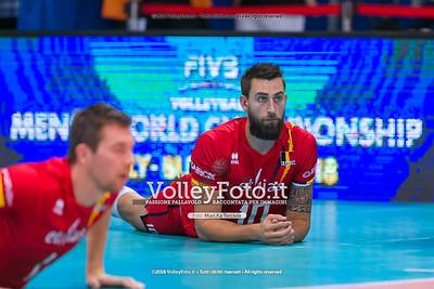 durante presso , 15 settembre 2018. Foto di: Mari.ka Torcivia per VolleyFoto.it [riferimento file: 2018-09-16/_65A8289]