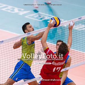 durante presso , 15 settembre 2018. Foto di: Mari.ka Torcivia per VolleyFoto.it [riferimento file: 2018-09-16/_65A8394]