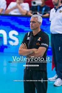 durante presso , 15 settembre 2018. Foto di: Mari.ka Torcivia per VolleyFoto.it [riferimento file: 2018-09-16/_65A8412]