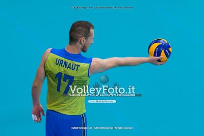 durante presso , 15 settembre 2018. Foto di: Mari.ka Torcivia per VolleyFoto.it [riferimento file: 2018-09-16/_65A8438]
