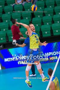 durante presso , 15 settembre 2018. Foto di: Mari.ka Torcivia per VolleyFoto.it [riferimento file: 2018-09-16/_65A8345]