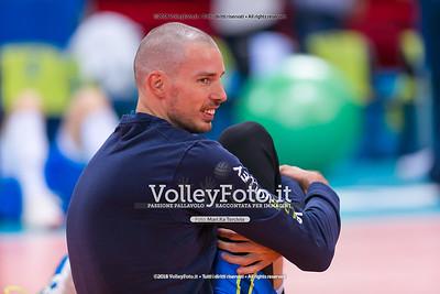 durante presso , 15 settembre 2018. Foto di: Mari.ka Torcivia per VolleyFoto.it [riferimento file: 2018-09-16/_65A8286]