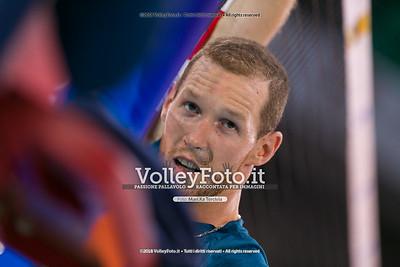 durante presso , 15 settembre 2018. Foto di: Mari.ka Torcivia per VolleyFoto.it [riferimento file: 2018-09-16/_65A8301]
