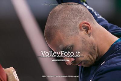 durante presso , 15 settembre 2018. Foto di: Mari.ka Torcivia per VolleyFoto.it [riferimento file: 2018-09-16/_65A8291]