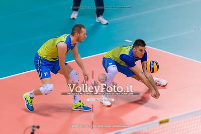 durante presso , 15 settembre 2018. Foto di: Mari.ka Torcivia per VolleyFoto.it [riferimento file: 2018-09-16/_65A8372]