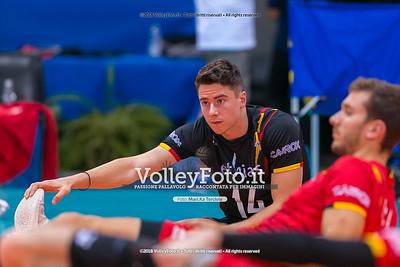 durante presso , 15 settembre 2018. Foto di: Mari.ka Torcivia per VolleyFoto.it [riferimento file: 2018-09-16/_65A8283]